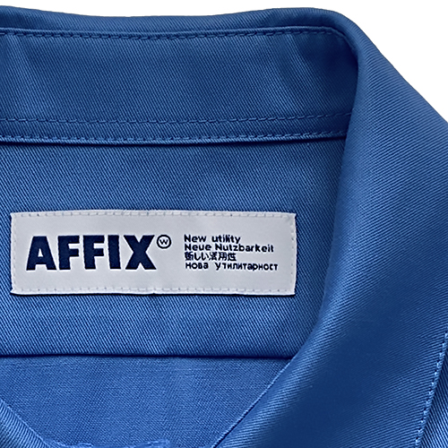 AFFIX_BASIC SHIRT_BLUE