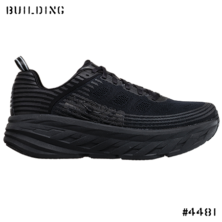 HOKA ONE ONE_BONDI 6_BLACK
