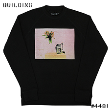 ISLE SKATEBOARDS_CREW NECK SWEAT_BLACK