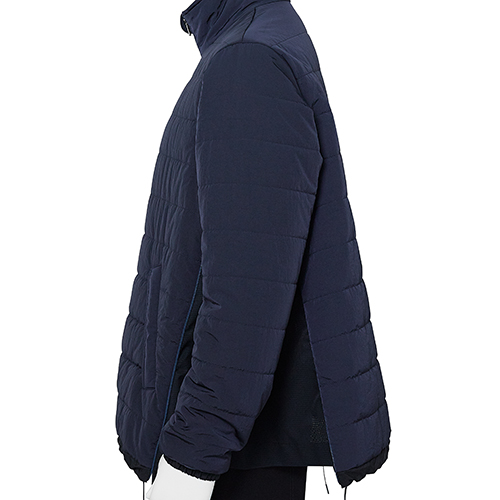FUMITO GANRYU_VENTILATION PUFF JACKET_NAVY
