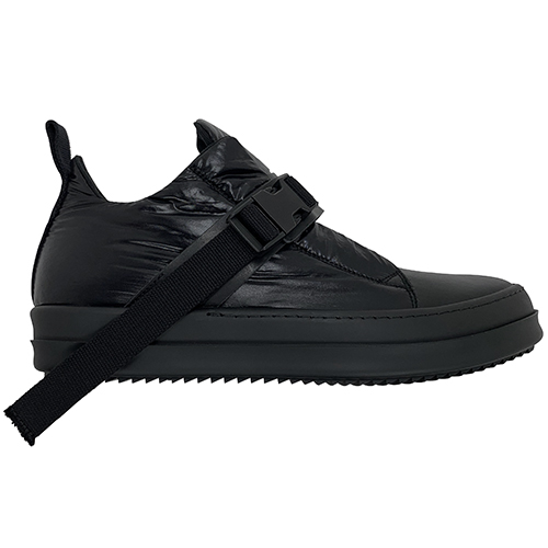 RICK OWENS DRKSHDW SHOES WITH STRAP BLACK