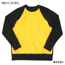 CHRISTOPHER RAEBURN_QUILTING SWEAT_BLACK×YELLOW