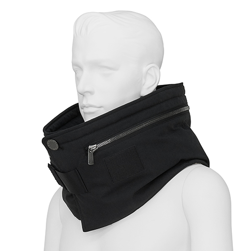 FUMITO GANRYU_NECK WARMER_BLACK