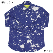 RAF SIMONS / STERLING RUBY_LIMITED EDITION SHIRT_BLUE