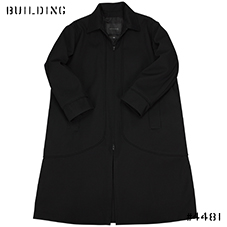 MACKINTOSH 0001_LONG COAT WITH INTERGRATED LINER_BLACK
