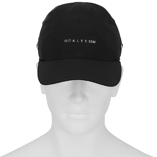 1017 ALYX 9SM_NYLON BUCKLE CAP_BLACK