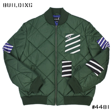 RAF SIMONS×FRED PERRY_BOMBER JACKET_GREEN