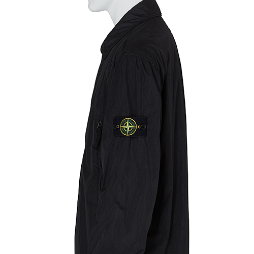 STONE ISLAND_SHIRT JACKET_BLACK