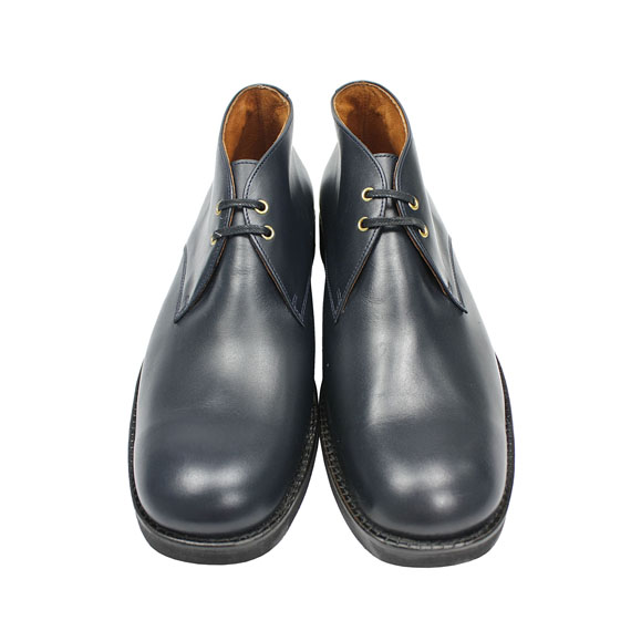 THE OLD CURIOSITY SHOP_CHUKKA BOOTS_NAVY