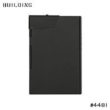 CLAUSTRUM_CARD CASE/CIGARETTE [ BLACK MATTE ] _BLACK