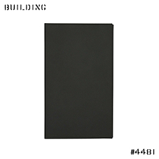 CLAUSTRUM_CARD CASE [ BLACK MATTE ]_BLACK