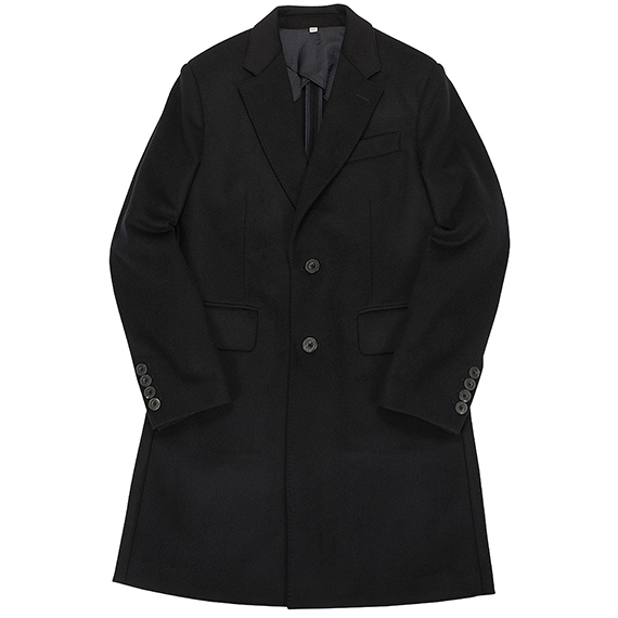 HARDY AMIES_CHESTER COAT[WOOL&CASHMERE]_NAVY