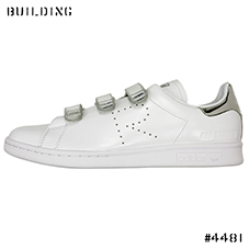 adidas by RAF SIMONS_STAN SMITH COMFORT_WHITE×SILVER