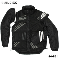 Y-3_2WAY DOWN JACKET_BLACK