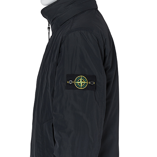 STONE ISLAND_MICRO REPS WITH PRIMALOFT® INSULATION JACKET_BLACK