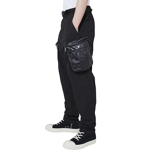 STONE ISLAND SHADOW PROJECT_CARGO PANTS_BLACK