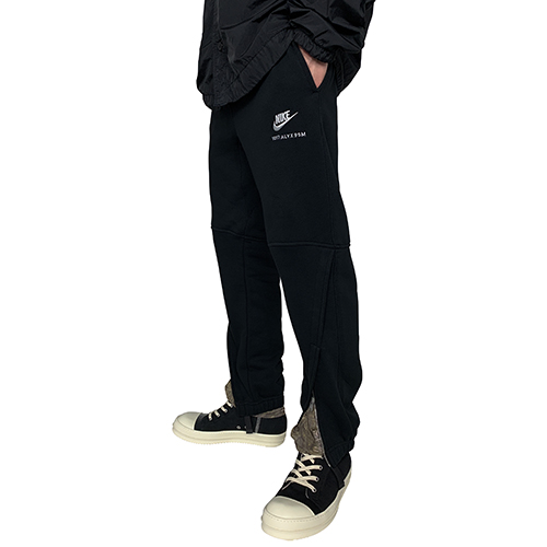 1017 ALYX 9SM×NIKE_SWEAT PANTS_BLACK
