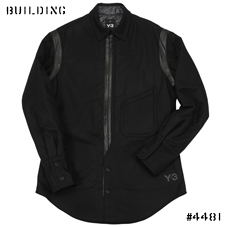 Y-3_INSULATED SHIRT_BLACK