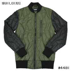 CHRISTOPHER RAEBURN_QUILTING BOMBER JACKET_OLIVE