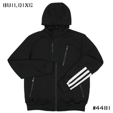 Y-3_HOODED TRACK JACKET_BLACK
