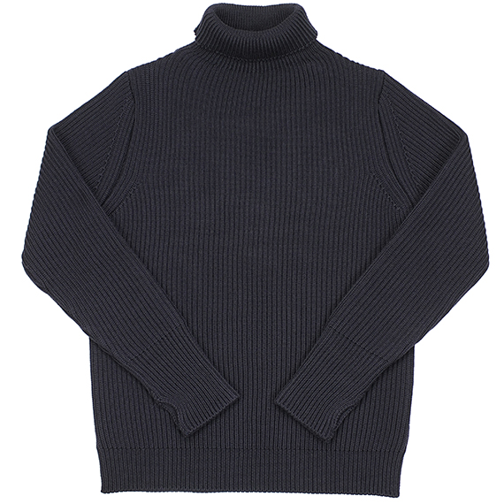 ANDERSEN-ANDERSEN_TURTLE NECK KNIT_NAVY