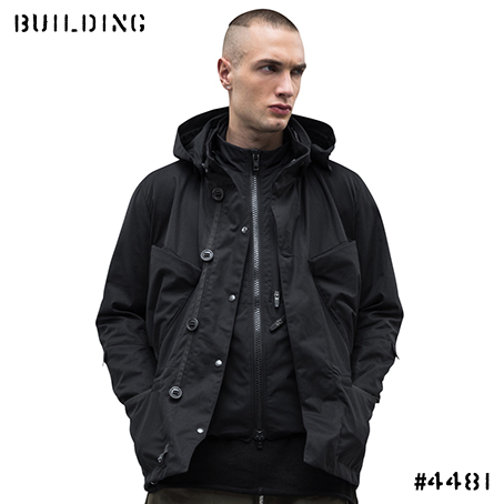 ACRONYM_J56-S HD GABARDINE INTEROPS FIELD JACKET_BLACK