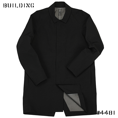 ARC'TERYX VEILANCE_PARTITION AR COAT_BLACK