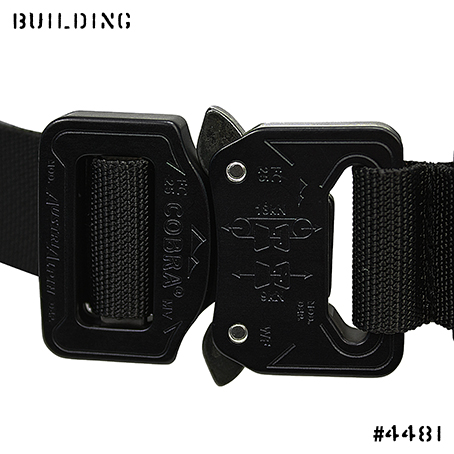 BAGJACK_17A/W NXL COBRA BUCKLE BELT [ ELIMINATOR SPECIAL VER.+30cm ] _BLACK