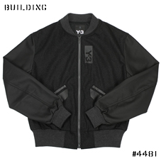 Y-3_WOOL BOMBER_CHARCOAL GRAY