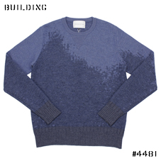 ANALOG LIGHTING_SWEAT KNIT_BLUE