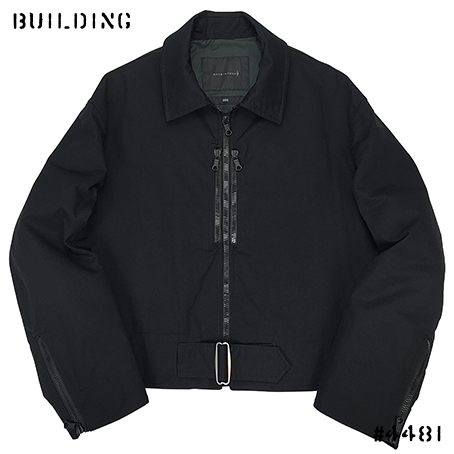 MACKINTOSH 0003_FLIGHT JACKET_BLACK