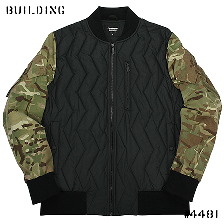 CHRISTOPHER RAEBURN_REMADE BOMBER JACKET_BLACK×CAMO