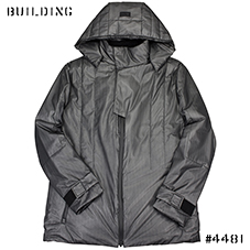 Y-3 SPORT_PADDED PARKA_DARK GRAY