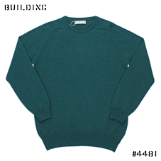 JOHNSTONS_CASHMERE CREW NECK KNIT_GREEN