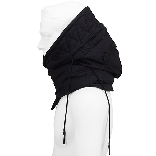 PRODUCT ALMOSTBLACK_NECK WARMER_BLACK