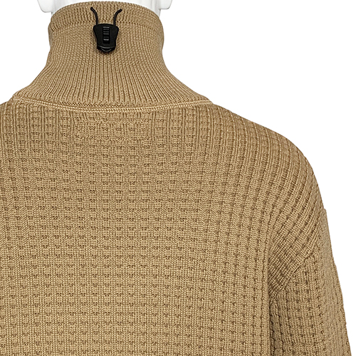 AFFIX_TURTLE NECK KNIT_CAMEL