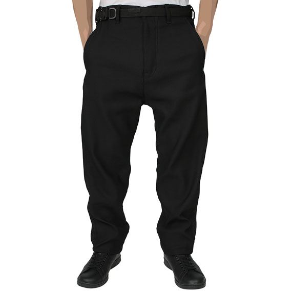 STONE ISLAND SHADOW PROJECT_PANTS_BLACK