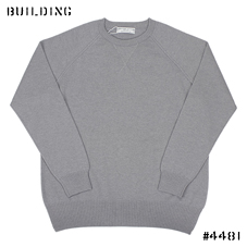 JOHNSTONS_CASHMERE CREW KNIT_GRAY