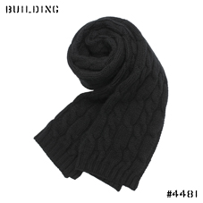 JOHNSTONS_CABLE MUFFLER_BLACK
