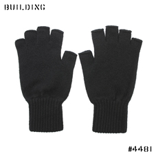 JOHNSTONS_CASHMERE KNIT GLOVE_BLACK