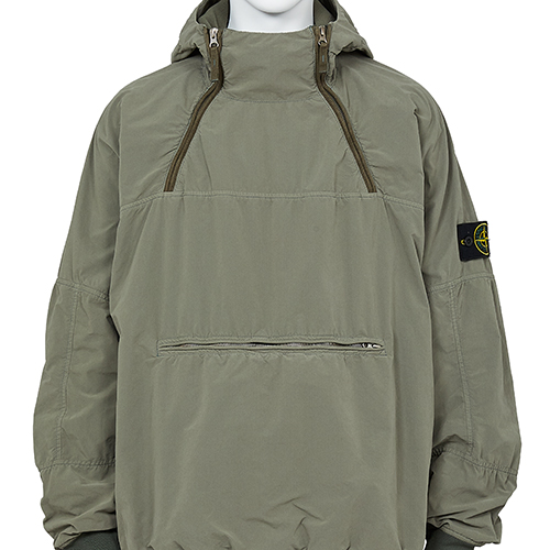 STONE ISLAND_DAVID LIGHT-TC WITH MICROPILE JACKET_OLIVE