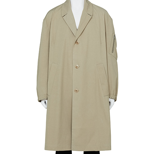 RANDOM IDENTITIES_CAR COAT_BEIGE
