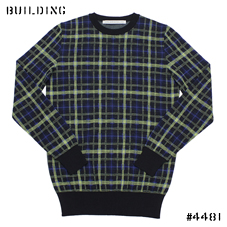 JOHN LAWRENCE SULLIVAN_CHECK KNIT_YELLOW CHECK
