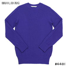 JOHN LAWRENCE SULLIVAN_RIB KNIT_BLUE