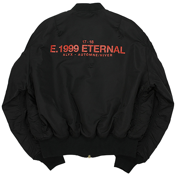 ALYX×ALPHA INDUSTRIES_ E.1999 ETERNAL MA-1 JACKET_BLACK
