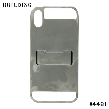 CLAUSTRUM_iPhone X / Xs CASE [ CONCRETE MATTE ] _GREY