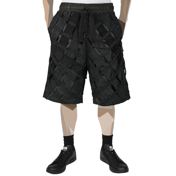 CHRISTOPHER RAEBURN_REMADE AIRBREAK SHORTS_BLACK