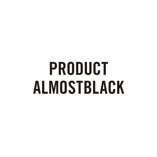 PRODUCT ALMOSTBLACK